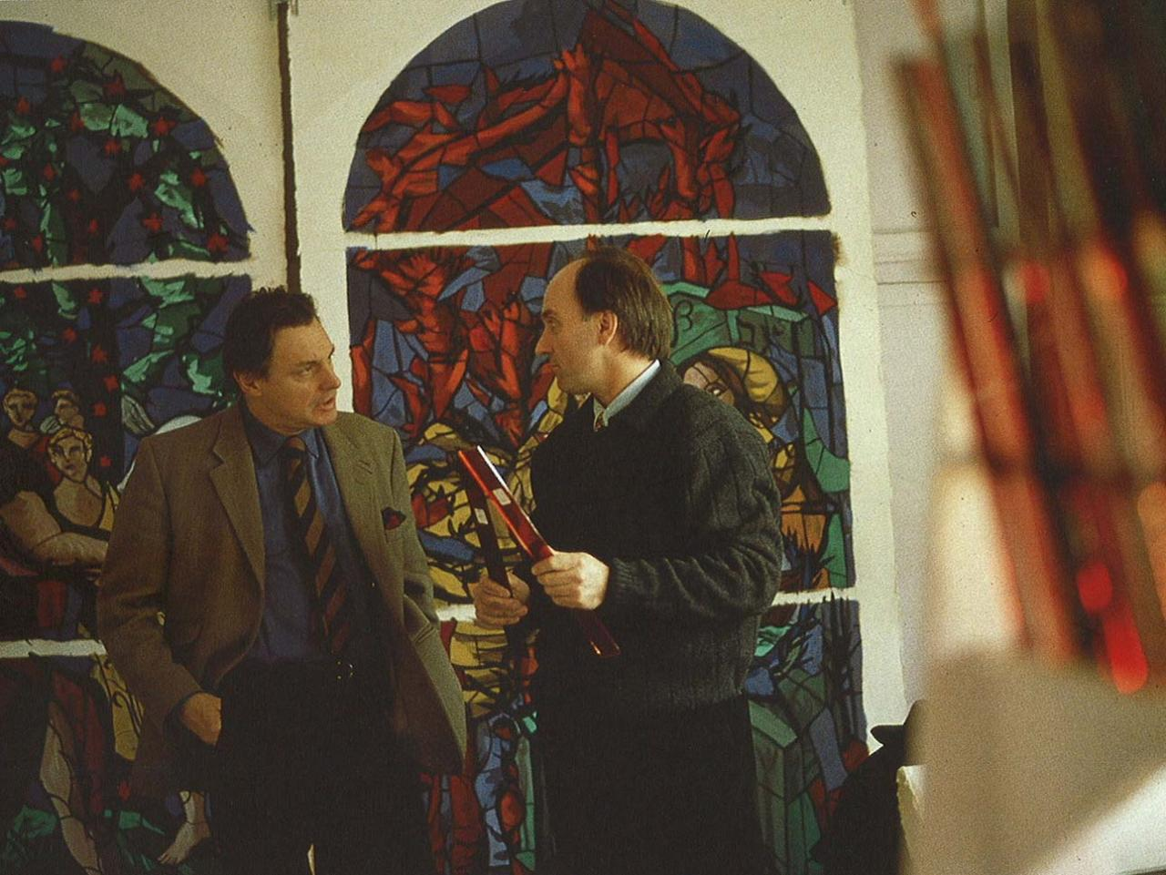 Gérard GAROUSTE (gauche) & Pierre-Alain PAROT