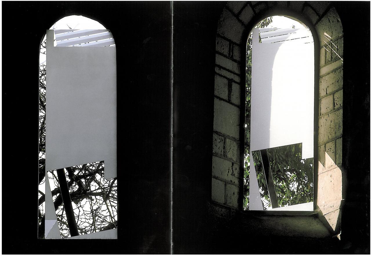 Abbaye d'ACEY (M.H dept39)  Artiste Jean RICARDON