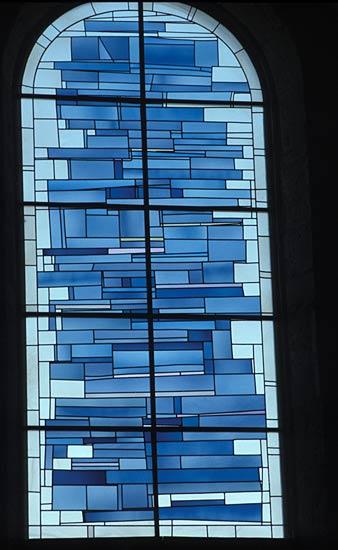 église de St Laurent 39 baies du choeur