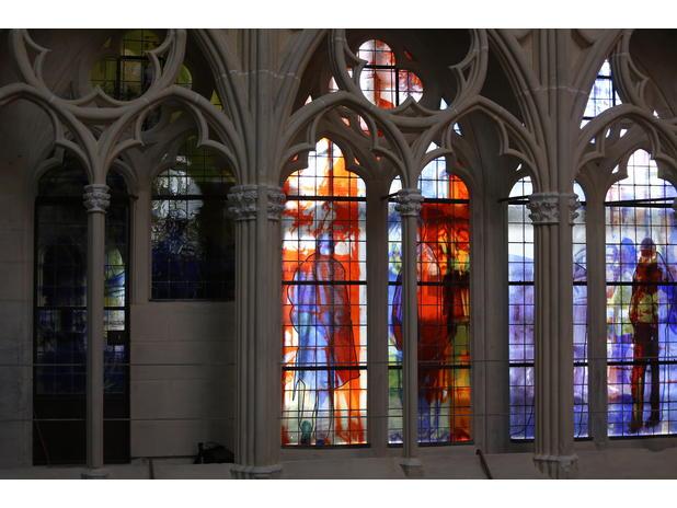 Cathédrale de Tours - Triforium
