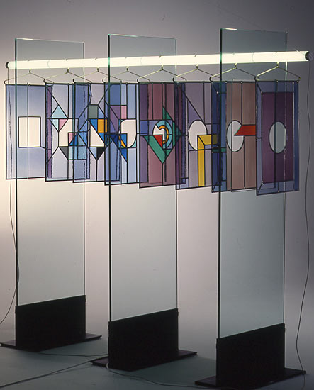 Panneaux sur cintres / LandMuséum Darmstadt (180x200cm)