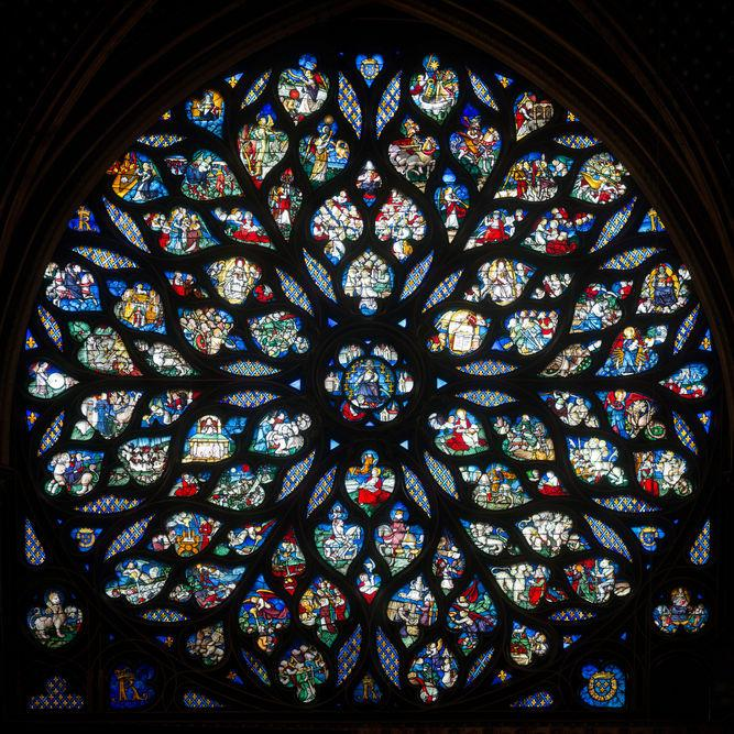 Rosace - Sainte Chapelle PARIS